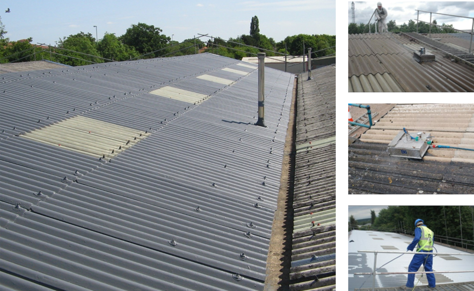 Asbestos Cement Sheets Surface Protection