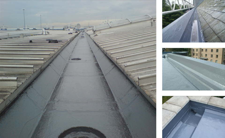 Surface Protection Coatings Ltd Gutters Surface Protection