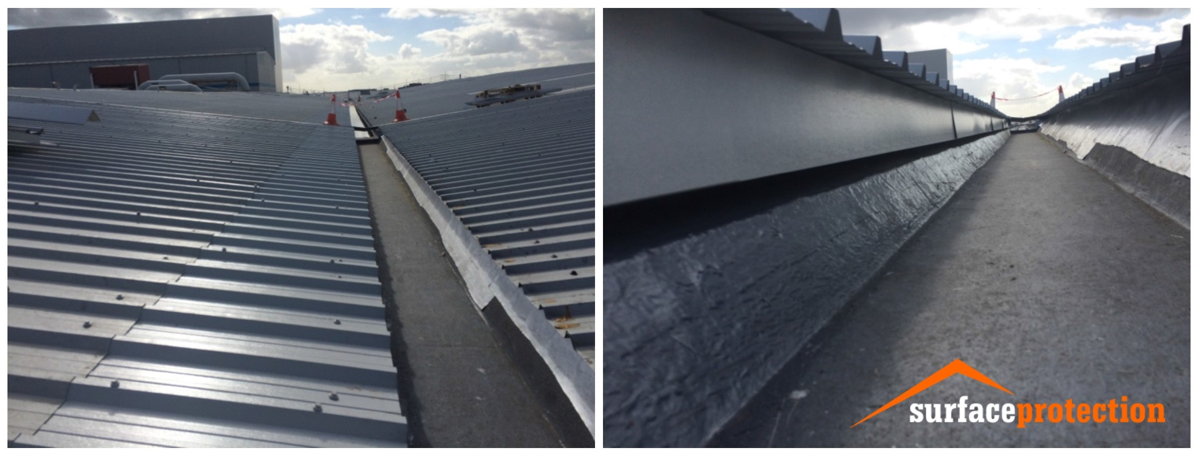 Gutter Coating Surface Protection