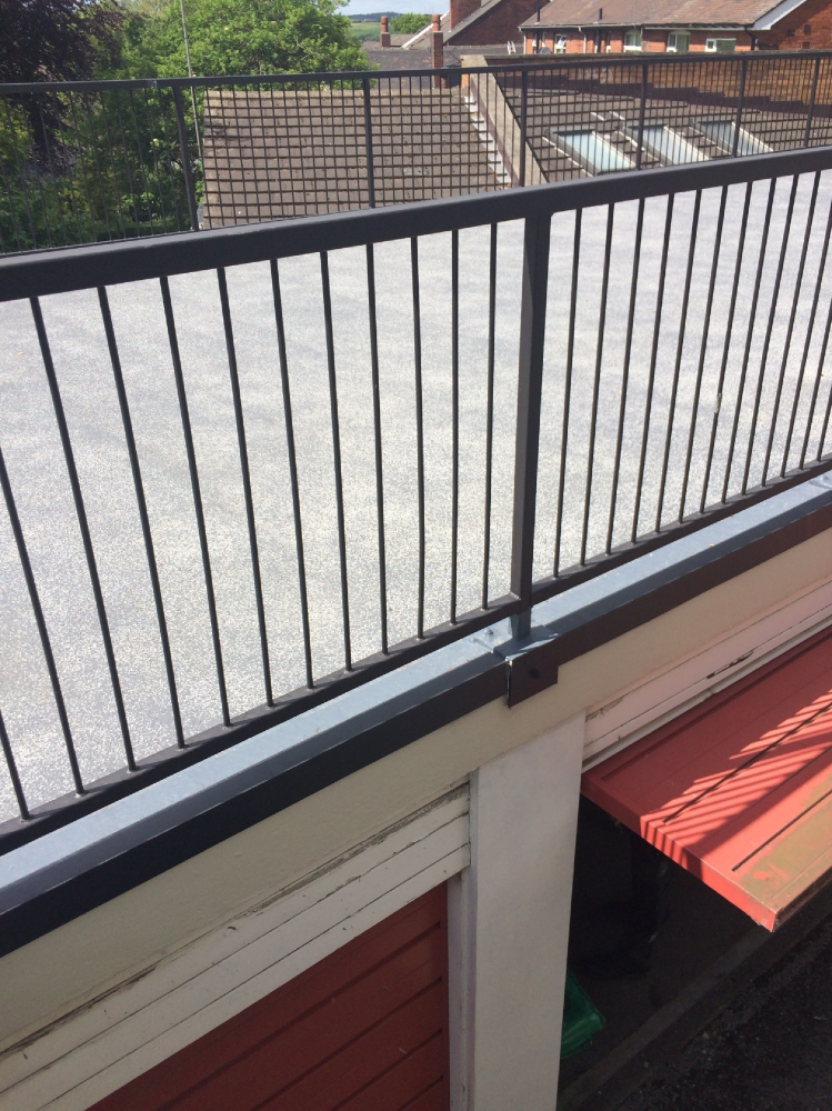 Balconies and Communal Walkways