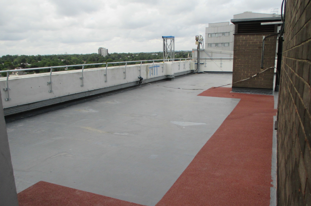 Residential Tower Block Surface Protection