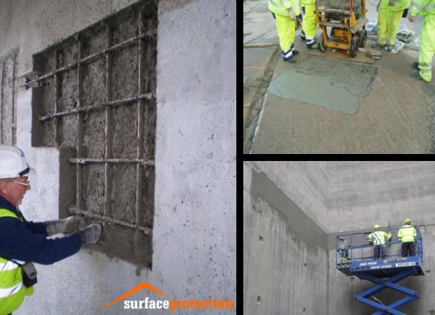 Our Services - Concrete Repair