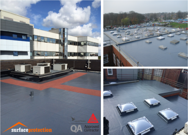Our Services - Liquid Roofing