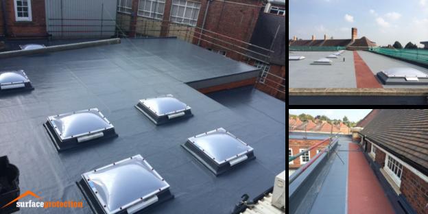 Liquid Roofing - College