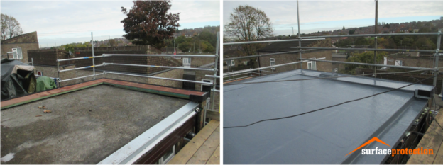 Liquid Roofing Yorkshire Surface Protection Part 2